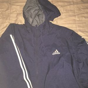 Adidas insulates winter coat